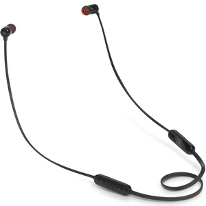 JBL Wireless In-Ear Headphone JBLT110BT Black