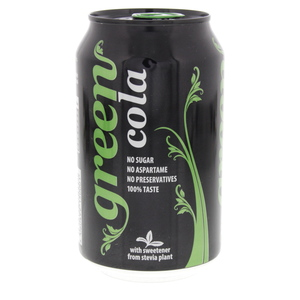 Green Cola Can 330ml