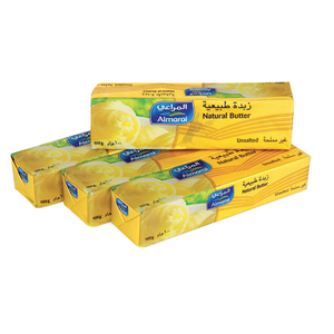 Almarai Natural Butter Unsalted 100g x 4pcs
