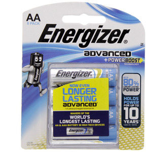 Energizer Advanced + Power Boost AA Battery X91RP8