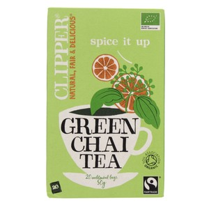 Clipper Spice It Up Organic Green Chai Tea 20 Bags