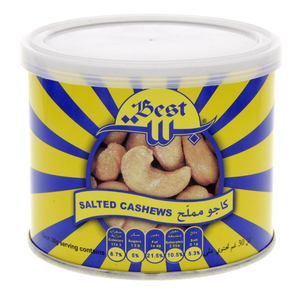 Best Salted Cashews 110g