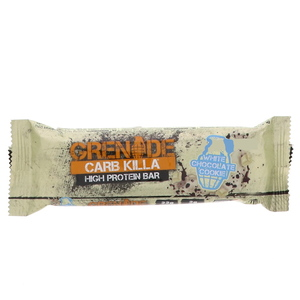 Grenade Carb Killa White Chocolate Cookie High Protein Bar 60g