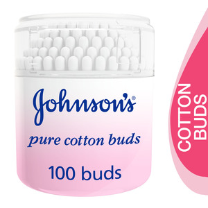 Johnson's Baby Pure Cotton Buds 100pcs