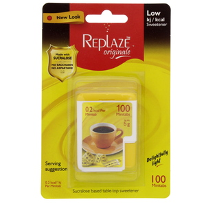 Replaze Originale Sucralose Sweetener Mini Tabs 100's