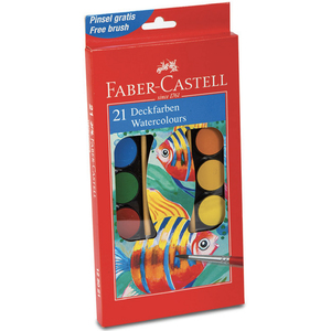 Faber-Castell Water Color 21's 125021