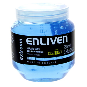 Enliven Hair Gel Extreme Hold Blue 250ml