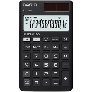 Casio Calculator NJ-120D-BK
