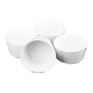 Home Ceramic Ramekin Bowls Set 4pcs 11cm