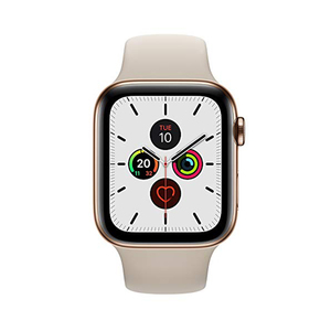 Apple Watch Series 5 GPS + Cellular MWWH2AE 44mm Gold Stainless Steel Case with Stone Sport Band