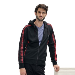 Eten Men's Hood Cardigan Black MT04