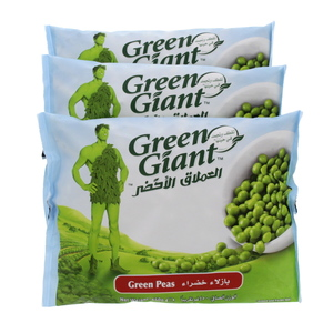 Green Giant Frozen Garden Peas 450g X 3pcs