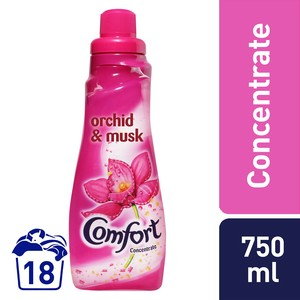 Comfort Concentrated Fabric Softener Orchid & Musk 750ml