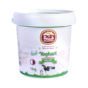 Baladna Fresh Yoghurt Full Fat 1kg