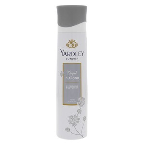 Yardley Royal Diamond Refreshing Body Spray 150 ml