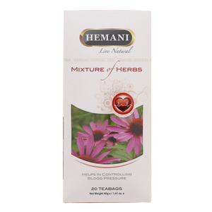 Hemani Mixture Of Herbs Blood Pressure 20 Tea Bags