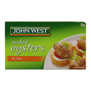 John West Smoked Oysters in Oil 85g