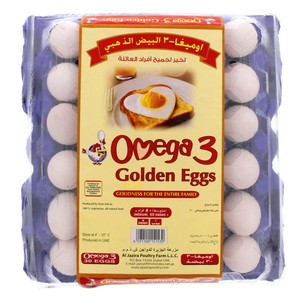Golden Omega 3 Eggs Medium White/ Brown 30pcs