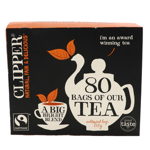 Clipper Tea unbleached Bags 250g