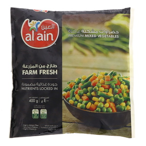 Al Ain Mixed Vegetables 400g