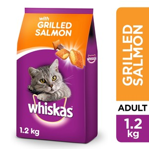 Whiskas Grilled Salmon Dry Food Adult 1+ years 1.2g