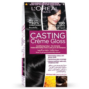L'Oreal Casting Creme Gloss 100 Black Licorice 1 Kit