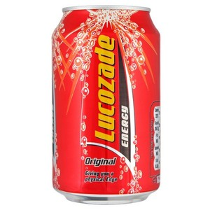 Lucozade Energy Drink Original Can 330ml