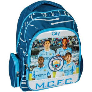 Manchester City School Back Pack 16inch