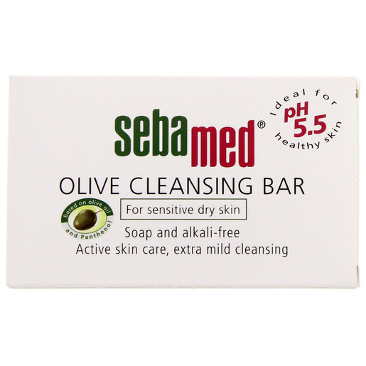 Sebamed Olive Cleansing Bar For Dry Skin 150g