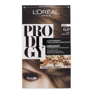 L'Oreal Prodigy Hair Color Oak Lightest Brown 6.0 1 Packet