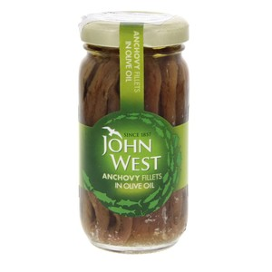 John West Anchovy Fillets In Olive Oil 100g