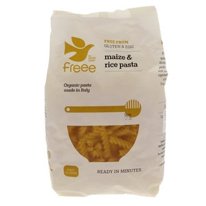 Doves Farm Organic Gluten Free Maize And Rice Pasta 500g