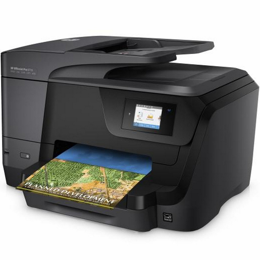 HP OfficeJet Pro 8710 All-in-One Color Printer