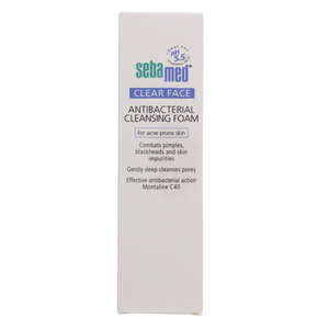 Sebamed Clear Face Antibacterial Cleansing Foam 150ml