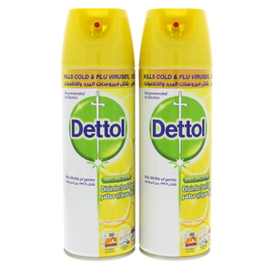 Dettol Antibacterial Disinfectant Spray Citrus 2 x 450ml