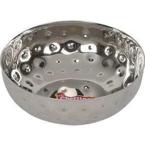 Chefline Stainless Steel Hammered Bowl Pearl