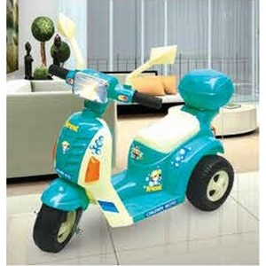 Lovely Baby Rechargeable Child Motor Bike LB-73 (Color may vary)