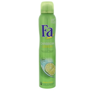 Fa Caribbean Lemon Exotic Fresh Deodorant Spray 200ml