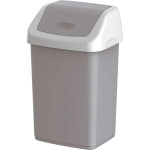 Cosmoplast Flip Top Waste Bin 46Ltr Assorted Color