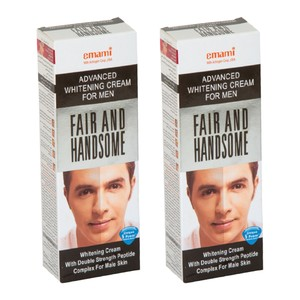 Emami Fair and Handsome Whitening Cream 100ml x 2pcs