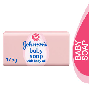 Johnson's Baby Soap with Baby Oil 175g