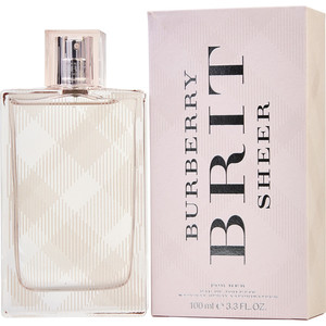 Burberry EDT Women Brit Sheer 100ml