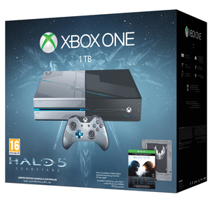 Xbox One 1TB Limited Edition Halo 5: Guardians Bundle