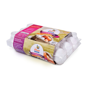 Saha Lutein Eggs Medium 15pcs