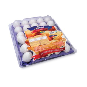 Saha Omega 3 White Eggs Medium 30pcs