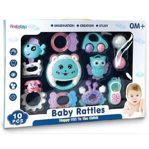 First Step Baby Rattle B1053875 10's