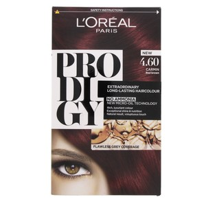 L'Oreal Prodigy Hair Color Carmin Red Brown 4.60 1 Packet