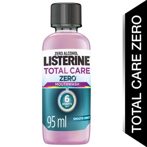 Listerine Mouthwash Total Care Zero Alcohol Smooth Mint 95ml