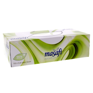 Masafi Pure Soft Care Tissue Assorted 150's x 5 Pieces