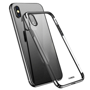 XUNDD iPhone XS Max Jazz Clear Case Black